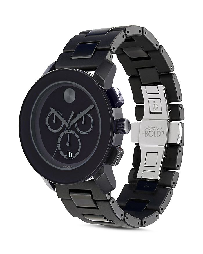 Movado BOLD - Large Chronograph Watch, 43.5mm