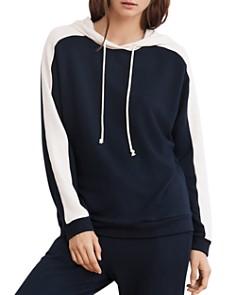 Velvet by Graham & Spencer - Color-Block Hooded Sweatshirt