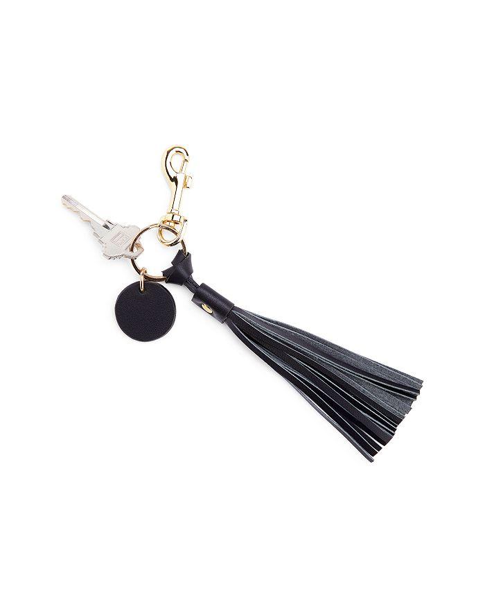 ROYCE New York - Leather Tassel Key Fob