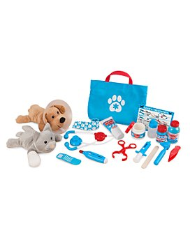 Melissa & Doug - Examine & Treat Pet Veterinarian Play Set - Ages 3+