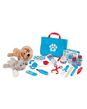 Melissa & Doug - Examine & Treat Pet Veterinarian Play Set - Ages 3+