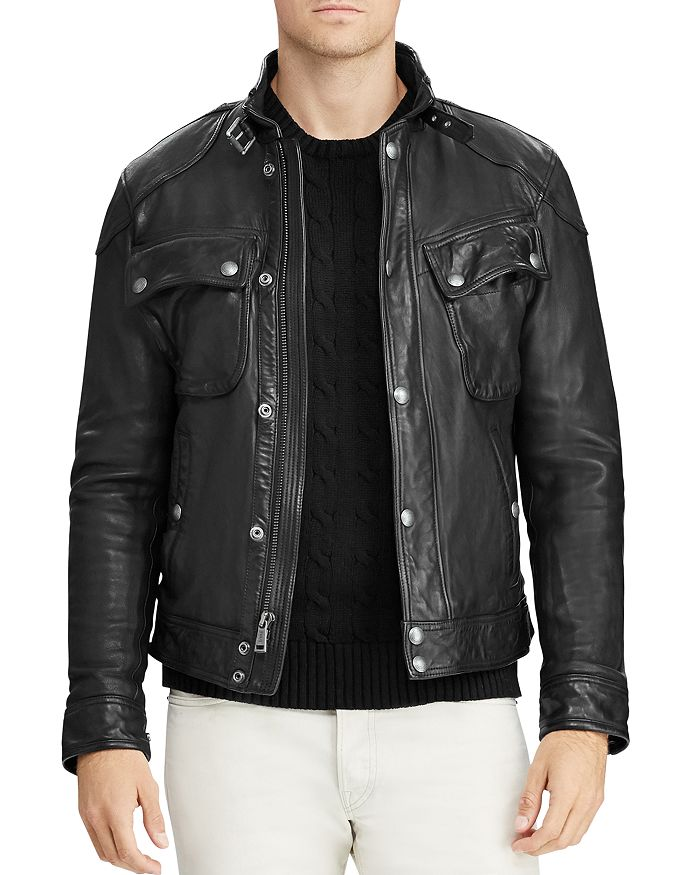 Polo Ralph Lauren - Circuit Leather Biker Jacket