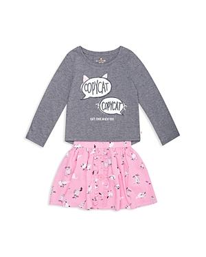 kate spade new york Girls Copycat Top  Skirt Set  Little Kid