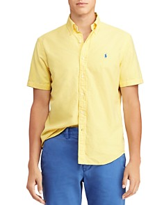 Polo Ralph Lauren - Short-Sleeve Classic Fit Button-Down Shirt