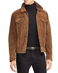 Polo Ralph Lauren - Roughout Suede Trucker Jacket