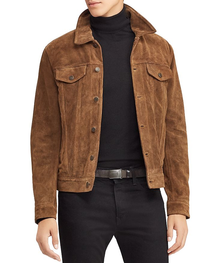 Polo Ralph Lauren - Roughout Suede Trucker Jacket