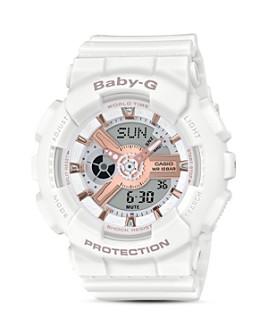 G-Shock - Baby-G White Watch, 43.4mm