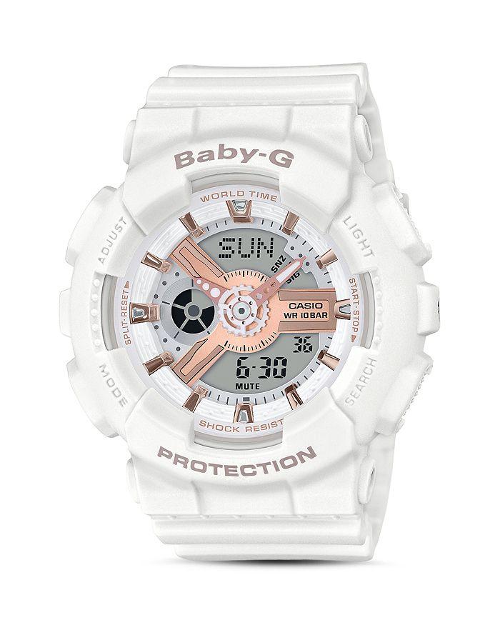 Casio CASIO BABY-G WHITE WATCH, 43.4MM