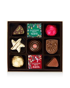 Godiva® - Holiday Chocolate and Truffle Collection, 9 Pieces