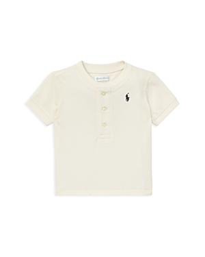 Ralph Lauren Boys Cotton Henley Shirt  Baby