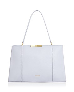Ted Baker - Faceted Bow Leather Tote