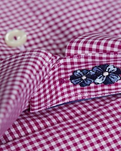 Eton - Gingham Regular Fit Dress Shirt