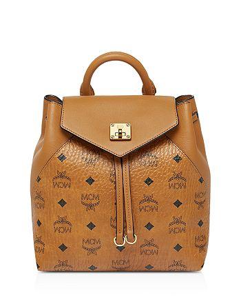 MCM - Essential Visetos Original Small Convertible Backpack