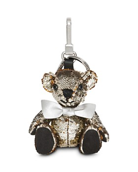 Burberry - Thomas Bear Charm in Sequin & Leather