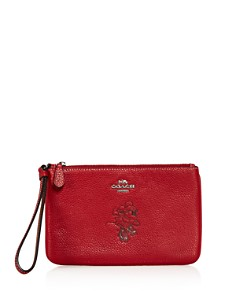 COACH - Disney x Coach Minnie Mouse Small Motif Wristlet