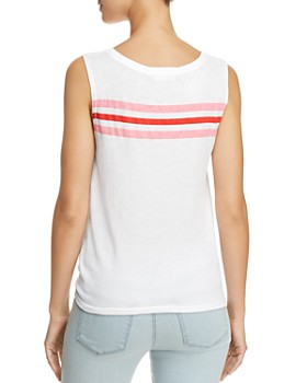 Generation Love - Jesse Striped Detail Tank
