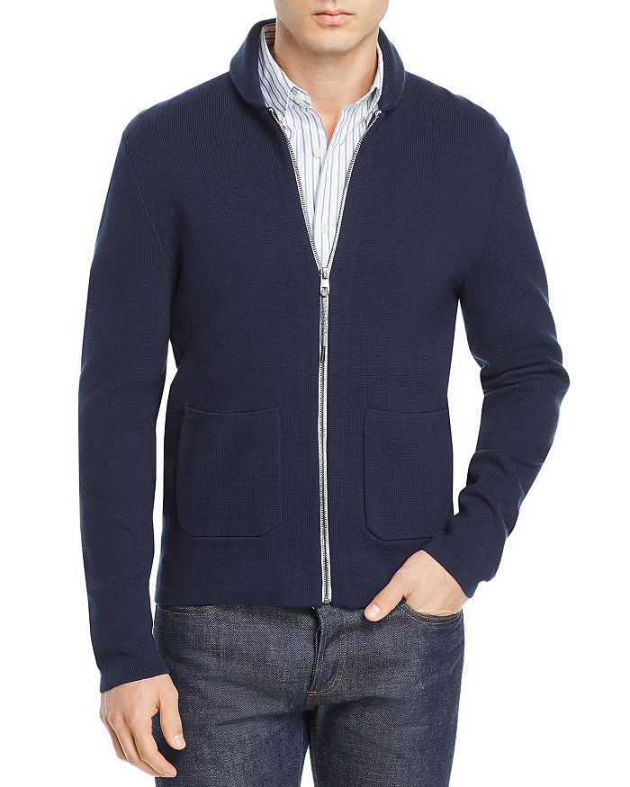 Michael Kors - Zip-Front Shawl-Collar Cardigan