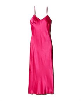 d92aae4b91ba Anine Bing - Rosemary Silk Slip Dress ...