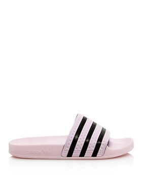 Adidas - Women's Adilette Striped Slide Sandals