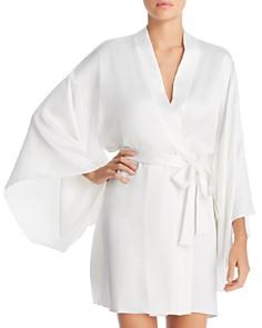 Flora Nikrooz - April Charmeuse Kimono-Sleeve Robe
