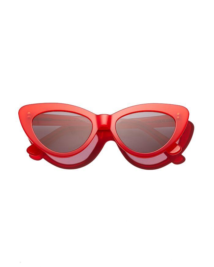 4c9599beccdc2 Illesteva - Women s Pamela Cat Eye Sunglasses