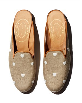 6990b67b5 Stubbs & Wootton - Women's Hearts Gleem Mules ...