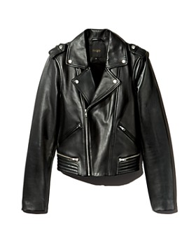 f69275e24bc Womens Leather Jacket - Bloomingdale s