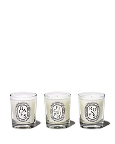 diptyque - Baies, Figuier, Roses Candle Gift Set