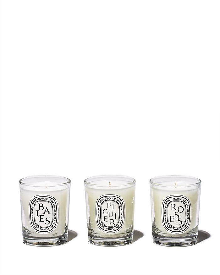 Diptyque BAIES, FIGUIER, ROSES CANDLE GIFT SET