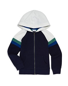 Splendid - Boys' Racing Stripe Zip-Up Hoodie - Little Kid