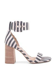 Splendid - Women's Siri Striped Chunky Heel Sandals