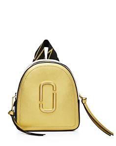 MARC JACOBS - Mini Pack Shot Color-Block Backpack
