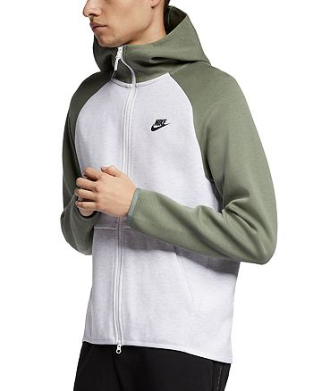 Nike - Tech Fleece Color-Block Hoodie