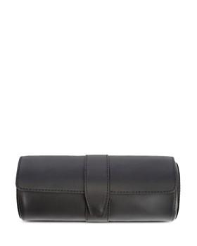 ROYCE New York - Leather Watch Roll & Cufflink Storage Case