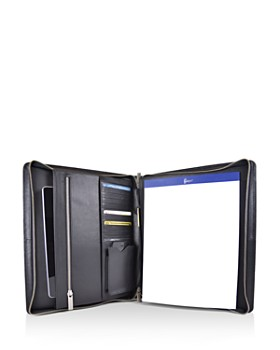 ROYCE New York - Leather iPad Organizer & Writing Portfolio