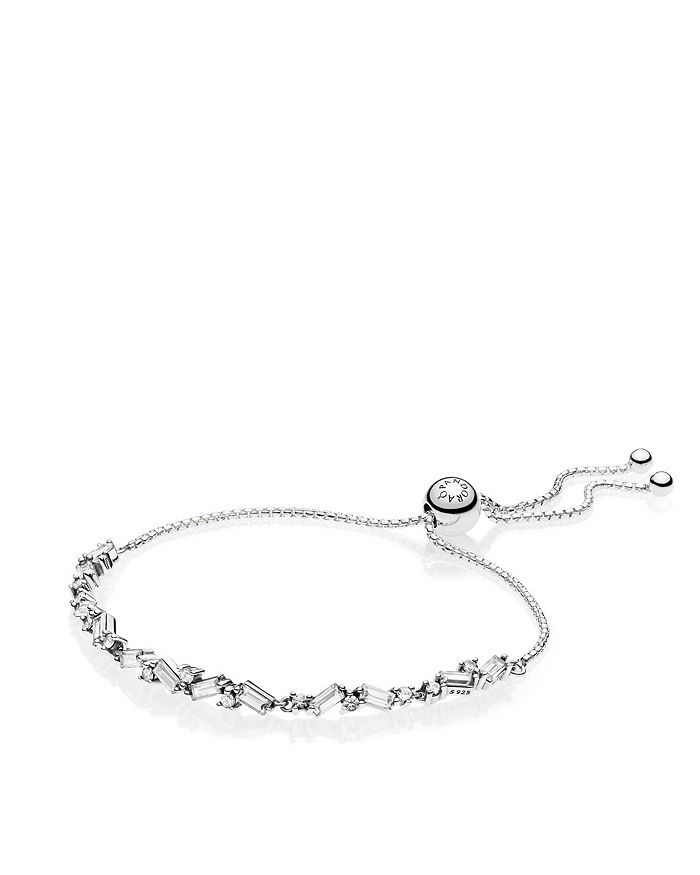 Pandora - Sterling Silver & Cubic Zirconia Glacial Beauty Bracelet