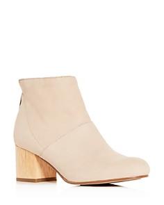 Eileen Fisher - Women's Suri Block-Heel Booties