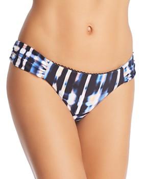 Lucky Brand - Solstice Canyon Shirred Hipster Bikini Bottom