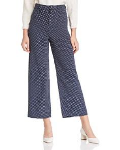 Rebecca Taylor - Dot-Print Cropped Pants