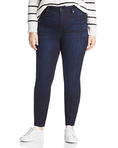Seven7 Jeans Plus - Seamed Skinny Jeans in Alias