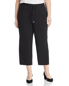 Eileen Fisher Plus - Cropped Drawstring Pants