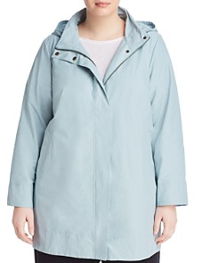 Eileen Fisher Plus - Hooded Jacket
