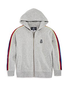Psycho Bunny - Boys' Fleece Zip-Up Hoodie - Little Kid, Big Kid