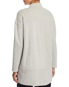 Eileen Fisher Petites - Zip Front Long Jacket