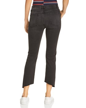 FRAME - Le High Gusset Seamed Straight-Leg Jeans