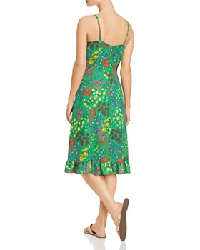 SJYP - Floral-Print Slip Dress