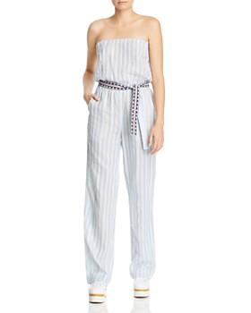 Lemlem - Nefasi Strapless Striped Jumpsuit