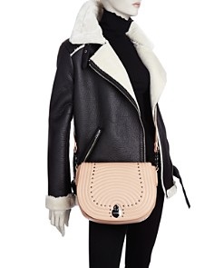 Longchamp - Cavalcade Quilted Studded Leather Crossbody