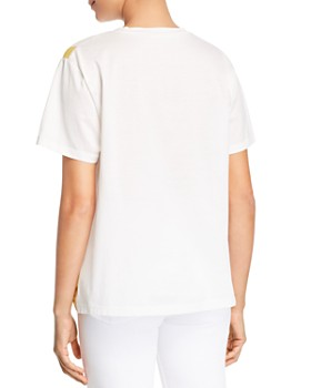 8522f5d5246c00 ... Weekend Max Mara - Eulalia Floral   Color-Blocked Tee