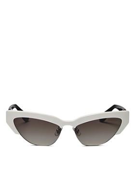 7fc71722a8 Miu Miu - Women s Mirrored Cat Eye Sunglasses